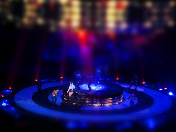 Tiltshift Britney Spears concert